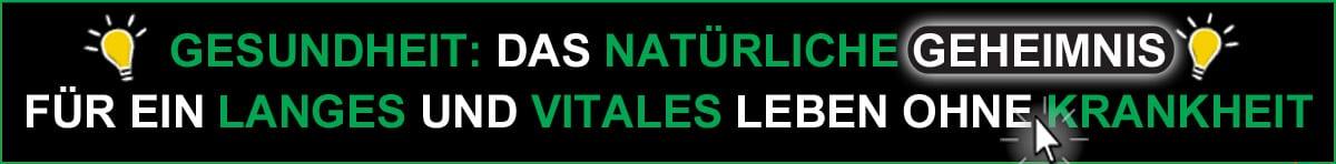 Gesundheit - Das natürliche Geheimnis für ein langes und vitales Leben ohne Krankheit